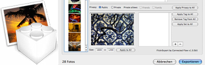 flickr-export for iphoto