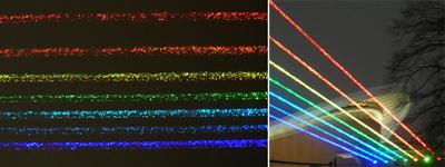 laser rainbow